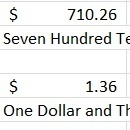 Convert Numbers (Currency) to Words With Excel VBA