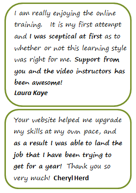 Advanced Excel Training Testimonials 2