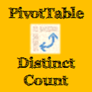 PivotTable Distinct Count